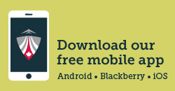 Download our free mobile app (Android, Blackberry, iOS)