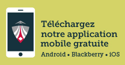 Téléchargez notre applications mobile gratuite (Android, Blackberry, iOS)