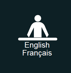 English | Français Official Languages sign